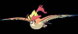 Pidgeot - #018 - Serebii.net Pokédex Fearow Mega Evolution
