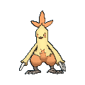 Pokémon GO Combusken stats and Max CP