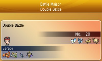 Pokémon X & Y - Vs  Recorder
