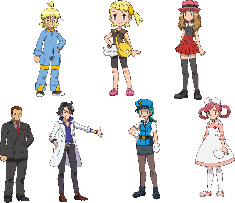 Pokemon Gen 6 Anime Characters : Pokemon and y anime speculations page the